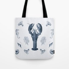 vintage sea life Tote Bag