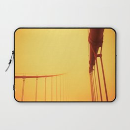 Golden - Golden Gate Bridge Laptop Sleeve