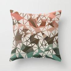 Geometry Jam Throw Pillow