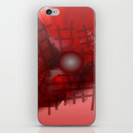 Rope and planet iPhone Skin