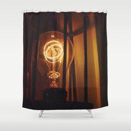 Lightbulb Shower Curtain