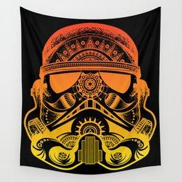 Mandala Stormtrooper - Sunset. A loyal solider.  Wall Tapestry