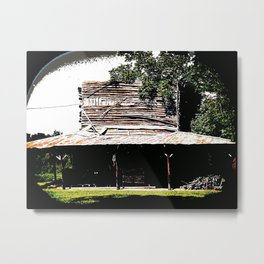 Store Shack 1484 Metal Print