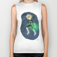 danny haas Biker Tanks featuring Danny Phantom by David Pavon