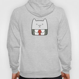 Business Cat Cube Hoody