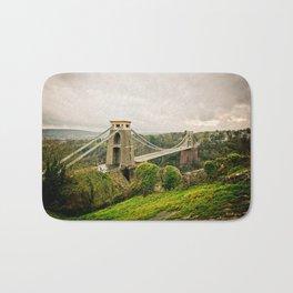 Bristol- Clifton Suspension Bridge Panorama Bath Mat