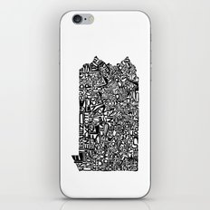 Typographic Pennsylvania iPhone Skin