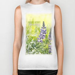 Lupine Light Biker Tank