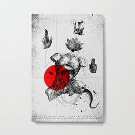 The Body Metal Print