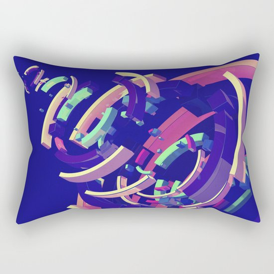 Wistful #2 of 4 Rectangular Pillow
