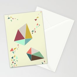 Geome(tri)c Stationery Cards