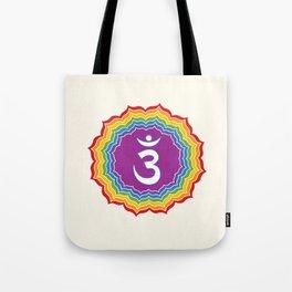 Third Eye chakra Tote Bag