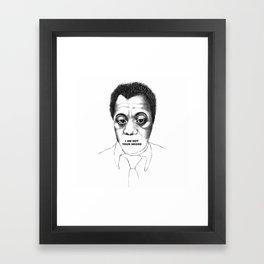James Baldwin Framed Art Print