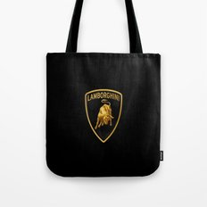 Lamborghini black Tote Bag