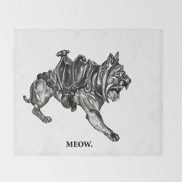 Battle Cat Throw Blanket