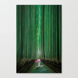 Arashiyama, Kyoto Japan Canvas Print
