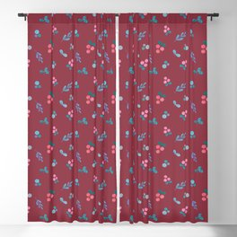 Red Berry Blackout Curtain
