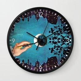 Finishing Touches Wall Clock