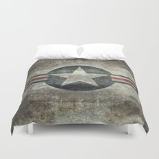 US Airforce style Roundel insignia Duvet Cover
