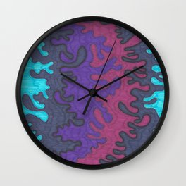 Instillation 5 Wall Clock