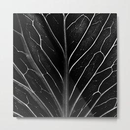 The black leaf Metal Print