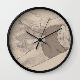 Isolated Wall Clock