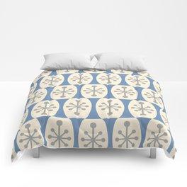 Mid Century Modern Atomic Fusion Pattern 105 Comforters