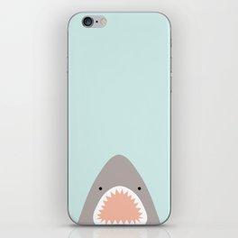 shark attack iPhone Skin