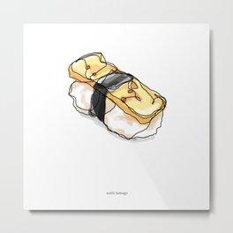 Tamago Sushi Metal Print