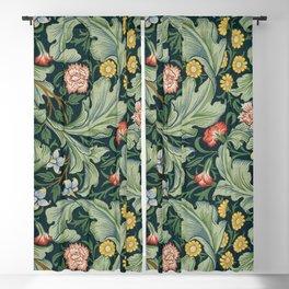 William Morris Leicester Herbaceous Italian Laurel Acanthus Textile Colorful Floral Pattern Blackout Curtain