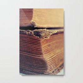 Reading Corner Metal Print