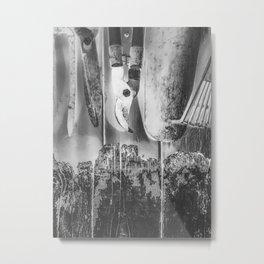 gardening tools Metal Print