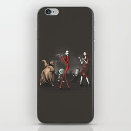 Thriller before Christmas iPhone Skin