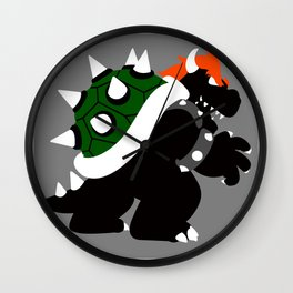 Nintendo Forever - Bowser King of the Koopas Wall Clock