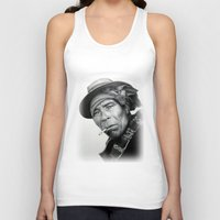 mexico Tank Tops featuring MEXICO 1 by MiroArt