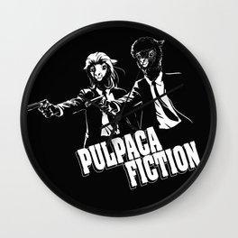 Pulpaca Fiction Wall Clock