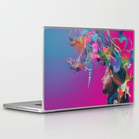 archan nair Laptop & iPad Skins featuring Lifted by Archan Nair