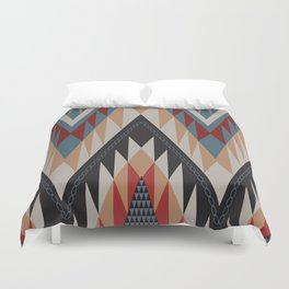 American Native Pattern No. 11 Duvet Cover