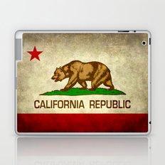 California Republic Retro Flag Laptop & iPad Skin