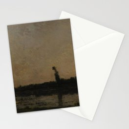 Charles-François Daubigny - Twilight Stationery Cards
