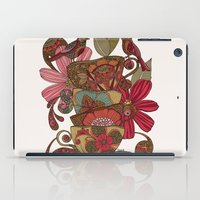 good morning iPad Cases featuring Good Morning by Valentina Harper