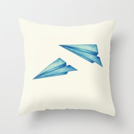 High Flyer | Origami | Simplified Throw Pillow