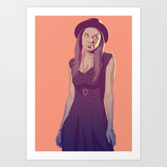 80/90s Marge Art Print