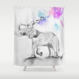EleTune Shower Curtain
