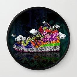 Horror Vacui - Baskets01 Wall Clock