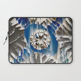 diamond in the blue agate cross Laptop Sleeve