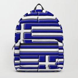 Greek 3D Flag Backpack