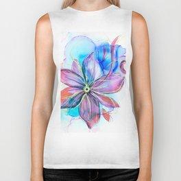 magical flower Biker Tank