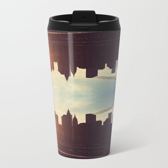 Parallel  Metal Travel Mug