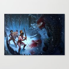 Den of the Ogrelion Canvas Print